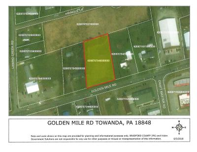 Towanda Residential Lots & Land For Sale: 1101 Golden Mile Rd