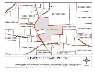 Sayre Residential Lots & Land For Sale: N Macafee Road