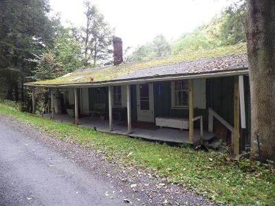 Gaines PA Single Family Home For Sale: $99,000