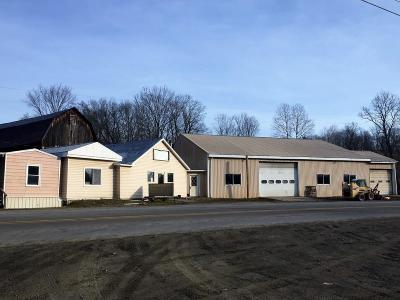 Middlebury Center Commercial For Sale: 980 Locey Creek Road