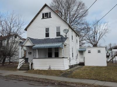 Waverly Multi Family Home For Sale: 20 1/2 Pine St