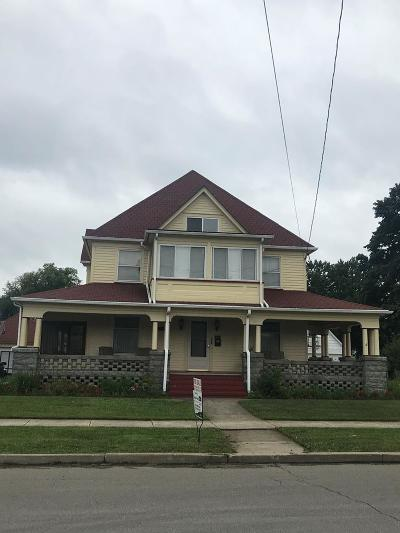 Sayre Single Family Home For Sale: 503 South Wilbur Avenue