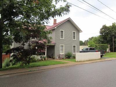 Troy Single Family Home For Sale: 21 Railroad Street