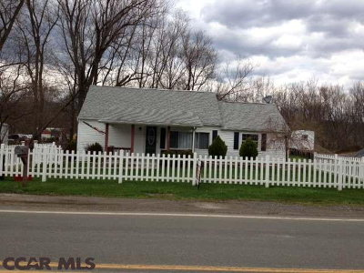 Single Family Home Closed: 526 Old Route 220