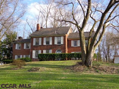 Single Family Home Sold: 1150 Linden Hall Road