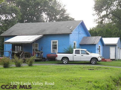 Single Family Home Sold: 1029 Eagle Valley Road
