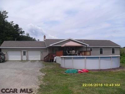 Philipsburg Single Family Home For Sale: 2717 Six Mile Road
