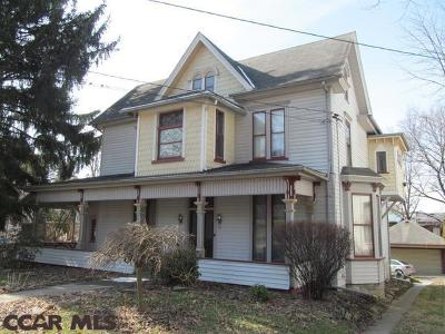 Philipsburg Single Family Home For Sale: 121 Centre Street S