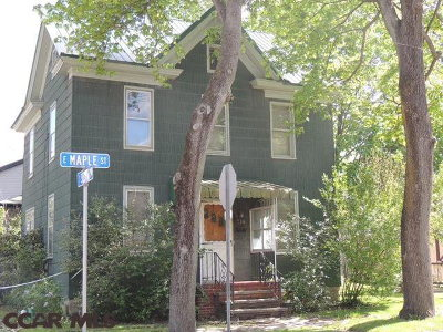 Single Family Home For Sale: 118 Maple Street E