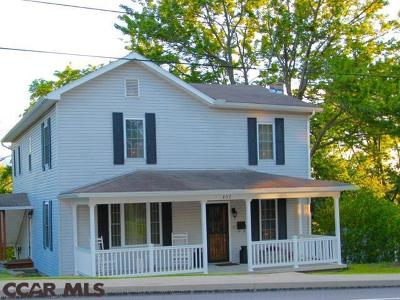 Philipsburg Single Family Home For Sale: 457 Centre Street S