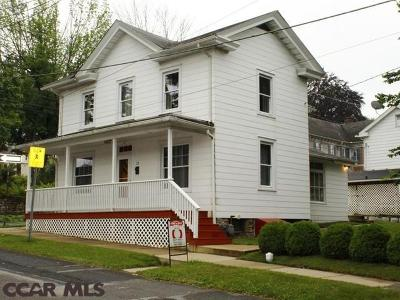 Philipsburg Single Family Home For Sale: 19 4th Street S