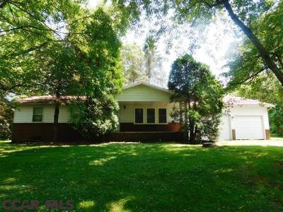 Single Family Home For Sale: 2112 Halfmoon Valley Road