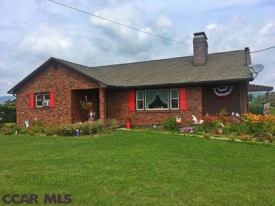 Single Family Home For Sale: 7797 State Route 655