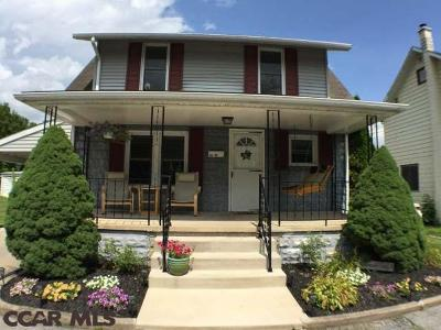Bellefonte Single Family Home For Sale: 312 Park Avenue