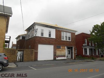Philipsburg Duplex For Sale: 207 Spruce Street E