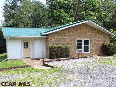 Centre County Single Family Home For Sale: 1876 Black Moshannon Road