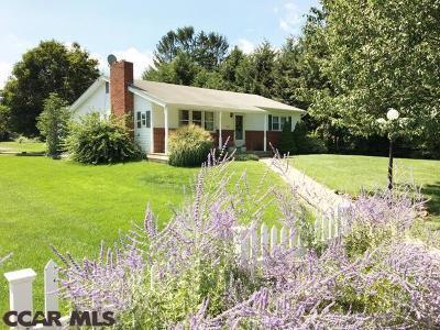 Single Family Home For Sale: 205 Madisonburg Pike