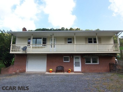 Single Family Home For Sale: 1208 Steele Hollow Road