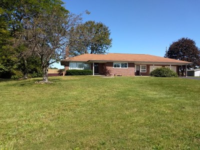 Single Family Home For Sale: 350 E Sycamore Road