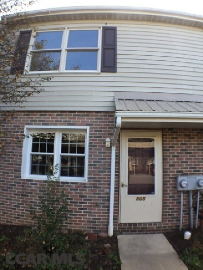 State College Condo/Townhouse For Sale: 505 Marjorie Mae Street