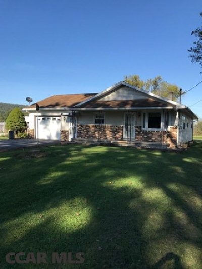Single Family Home For Sale: 108 Madisonburg Pike