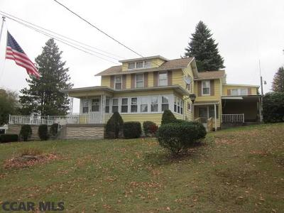 Philipsburg PA Single Family Home For Sale: $150,000