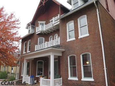 Bellefonte Single Family Home For Sale: 233 Allegheny Street N