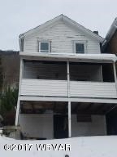 Renovo PA Single Family Home For Sale: $9,000