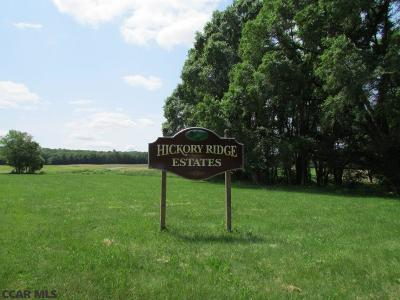 Residential Lots & Land For Sale: Lot 20 Hickory Ridge Road