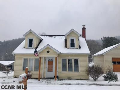 Single Family Home For Sale: 541 Bush Hollow Road
