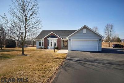 Spring Mills Single Family Home For Sale: 387 Paradise Road
