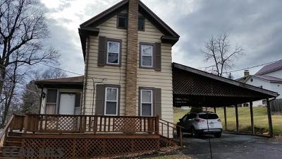 Osceola Mills PA Single Family Home For Sale: $65,500