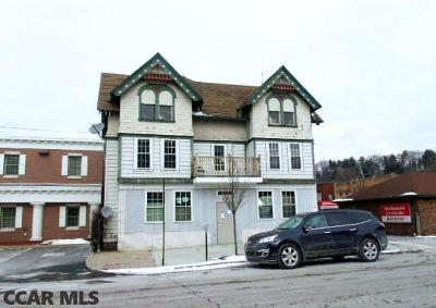 Clearfield PA Multi Family Home For Sale: $36,500
