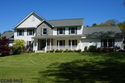 Single Family Home For Sale: 873 Stahls Lane