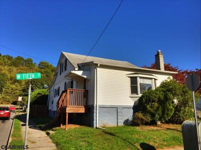 Single Family Home For Sale: 831 W 5th Street