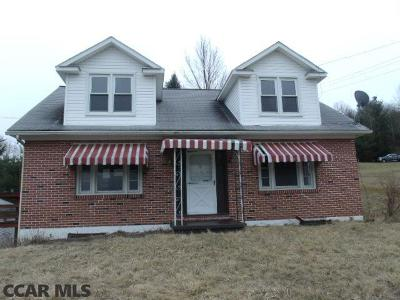 Clarence PA Single Family Home For Sale: $79,900