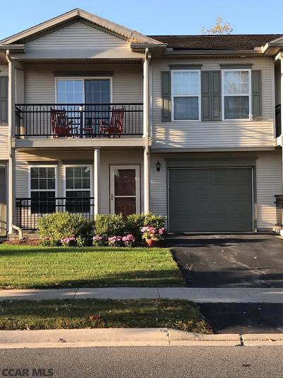 State College PA Condo/Townhouse For Sale: $250,000