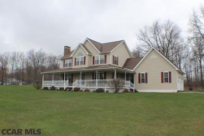 Philipsburg Single Family Home For Sale: 1651 Six Mile Road