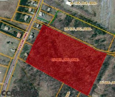 Residential Lots & Land For Sale: Tyrone Pike (Rt 350)