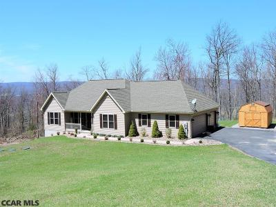 Bellefonte Single Family Home For Sale: 1975 Purdue Mountain Road