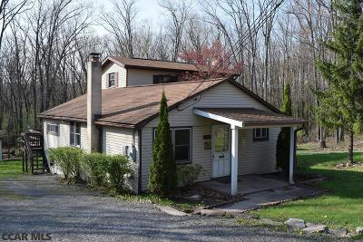 Single Family Home For Sale: 299 Greens Valley Road