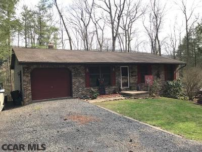 Single Family Home For Sale: 1914 New Lancaster Valley Road