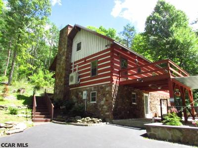 Single Family Home For Sale: 511 Rag Valley Road