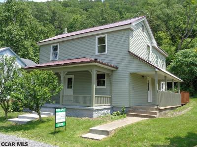 Bellefonte Single Family Home For Sale: 806 Pleasant View Boulevard