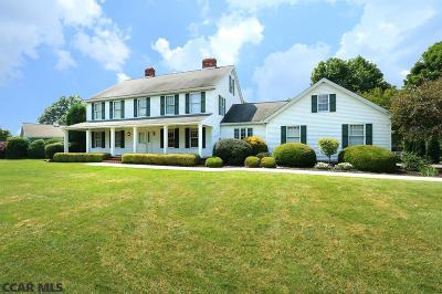Single Family Home For Sale: 2540 Meadow Road