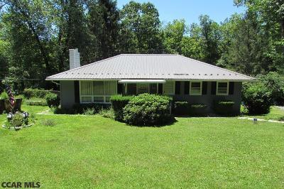 Single Family Home For Sale: 454 Bullit Run Road