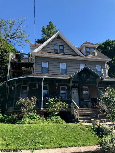 Bellefonte PA Multi Family Home For Sale: $195,000