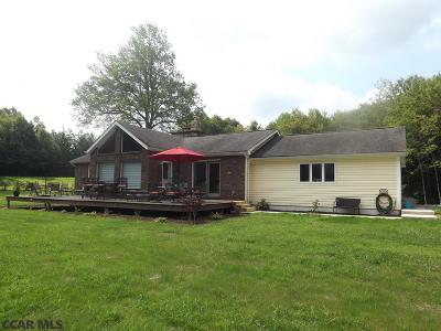 Single Family Home For Sale: 12303 Tyrone Pike