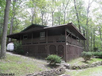 Single Family Home For Sale: 269 Snow Shoe Forest Mtn Rd