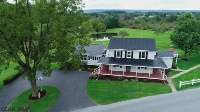 Spring Mills Single Family Home For Sale: 411 Mountain Back Road